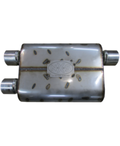 Nexus Mufflers 475 Series - Dual In/Offset Out
